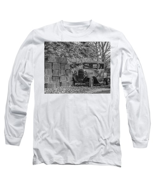 Lobster Pots And Truck Long Sleeve T-Shirt