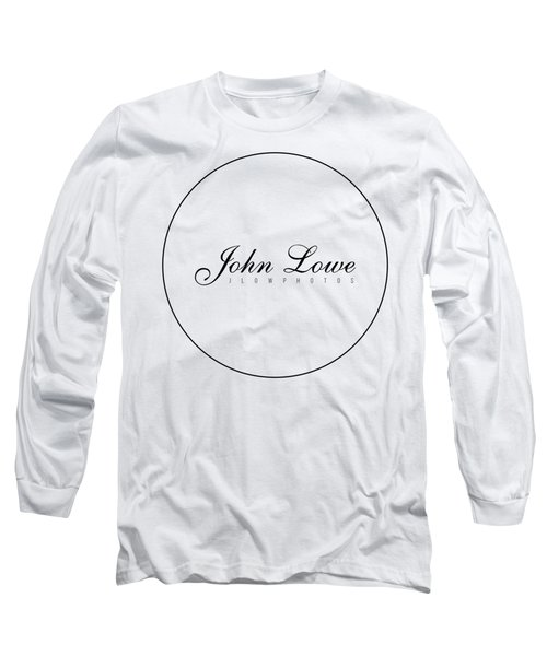 Logo White Background Long Sleeve T-Shirt