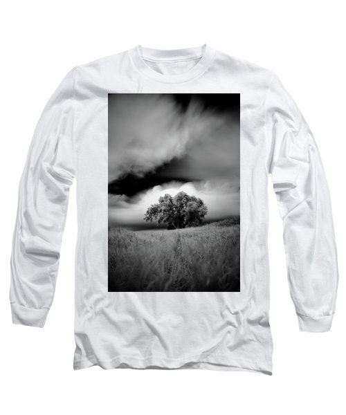 Lone Tree On A Hill Long Sleeve T-Shirt
