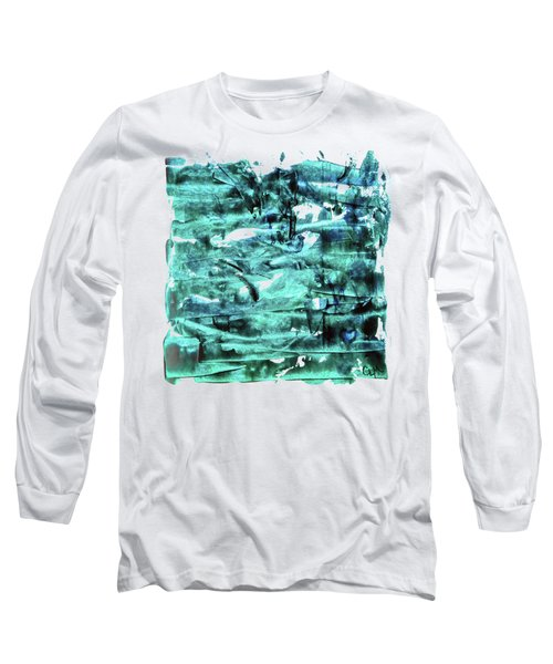 Look For The Blue Heart Long Sleeve T-Shirt