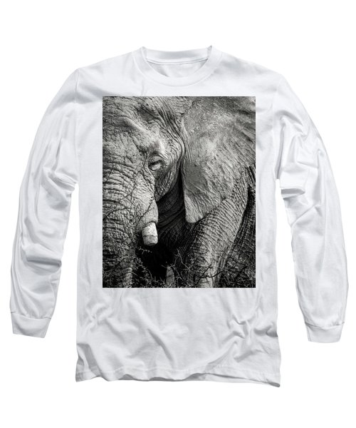 Look Of An Elephant Long Sleeve T-Shirt