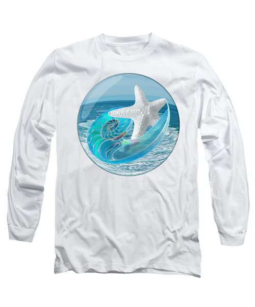 Lost In A Daydream - Floating On The Ocean Long Sleeve T-Shirt