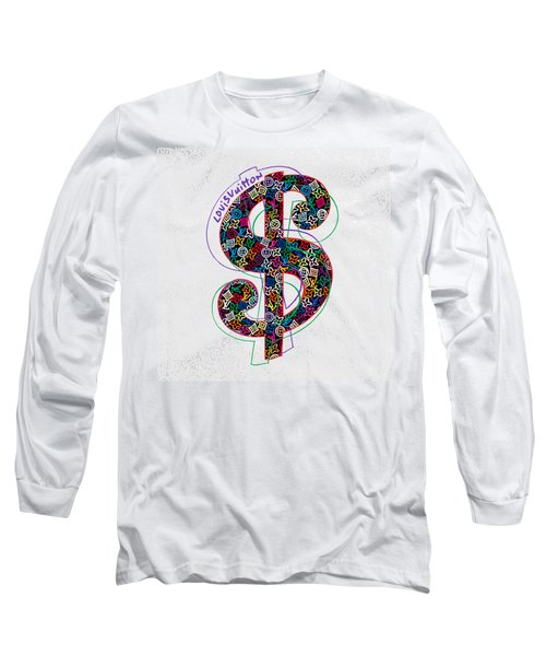 Louis Vuitton Dollar Sign-1 Long Sleeve T-Shirt