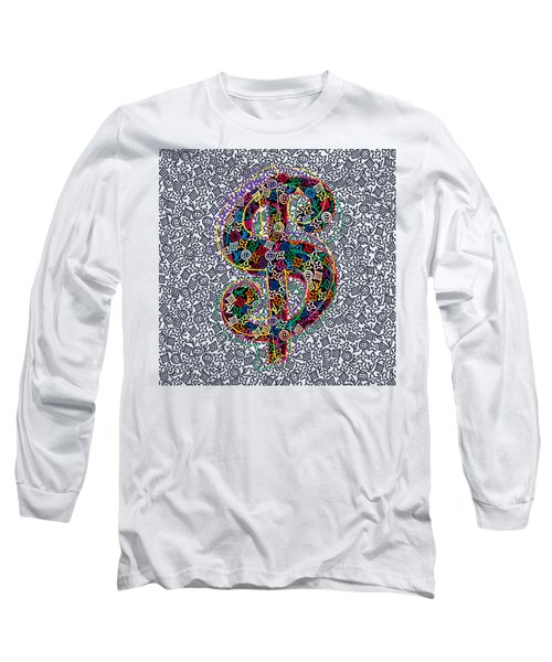 Louis Vuitton Dollar Sign-5 Long Sleeve T-Shirt