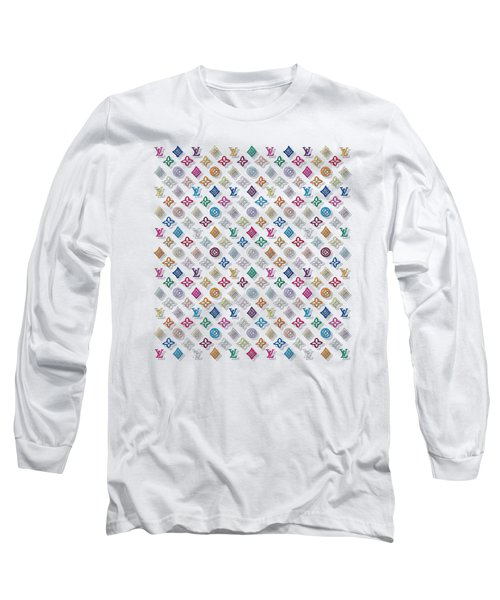 Louis Vuitton Monogram-3 Long Sleeve T-Shirt