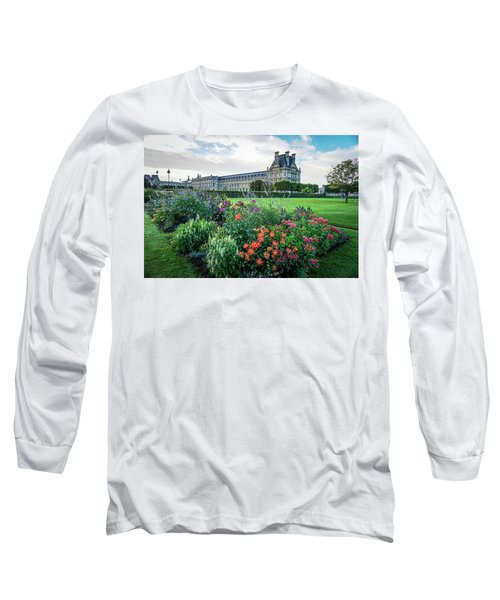 Long Sleeve T-Shirt featuring the photograph Louvre by Jim Mathis