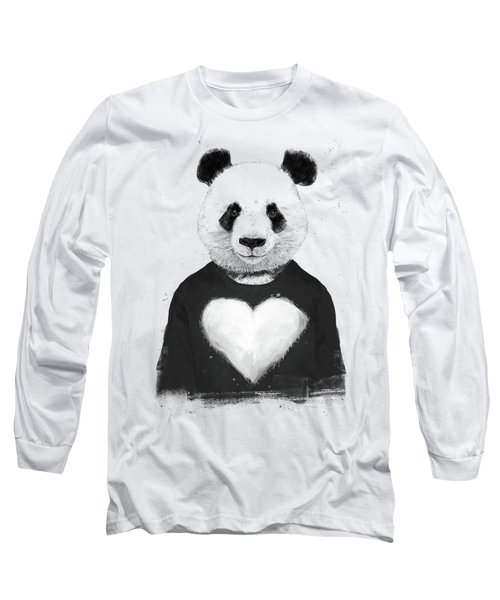 Lovely Panda  Long Sleeve T-Shirt