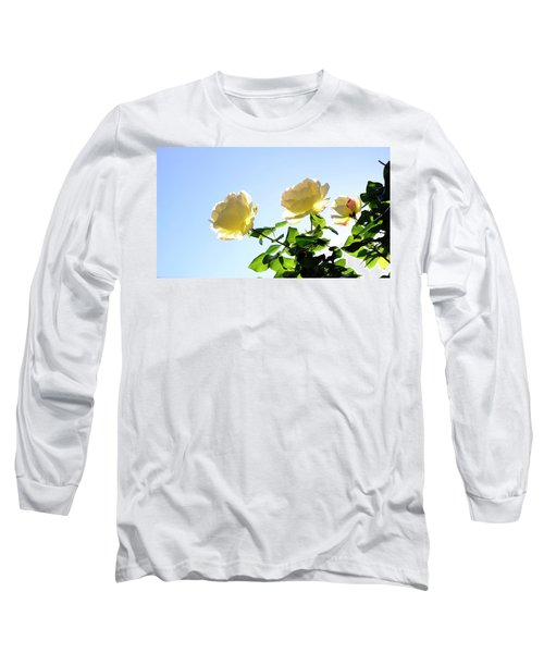 Long Sleeve T-Shirt featuring the photograph Luminous February by August Timmermans