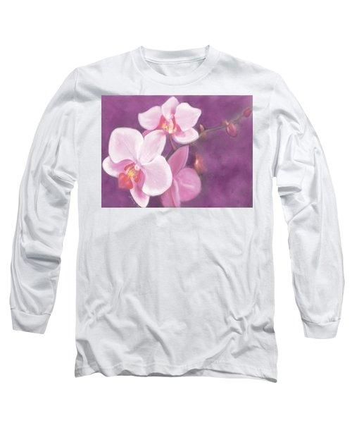 Luxurious Petals Long Sleeve T-Shirt