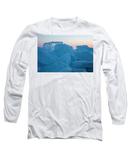 Mackinaw City Ice Formations 2161804 Long Sleeve T-Shirt