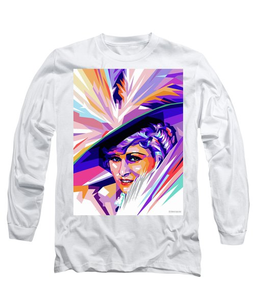Mae West Pop Art Long Sleeve T-Shirt