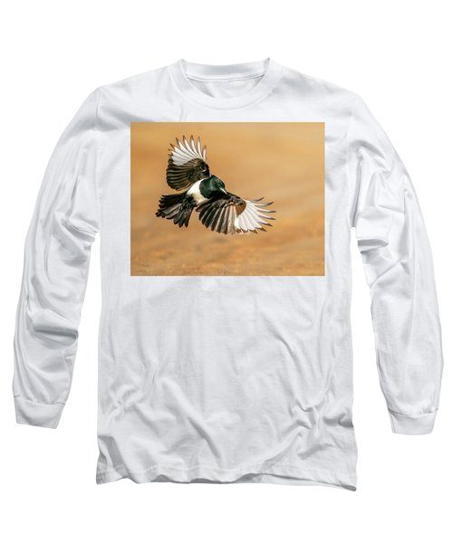 Magpie Beauty Long Sleeve T-Shirt