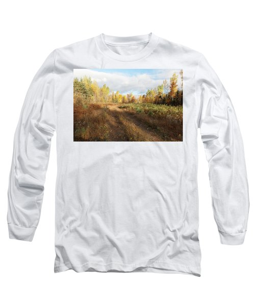 Maine Wilderness Color Long Sleeve T-Shirt