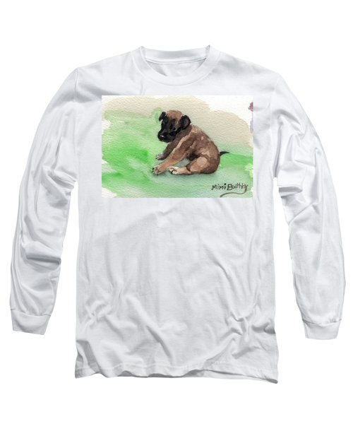 Malinois Pup 3 Long Sleeve T-Shirt