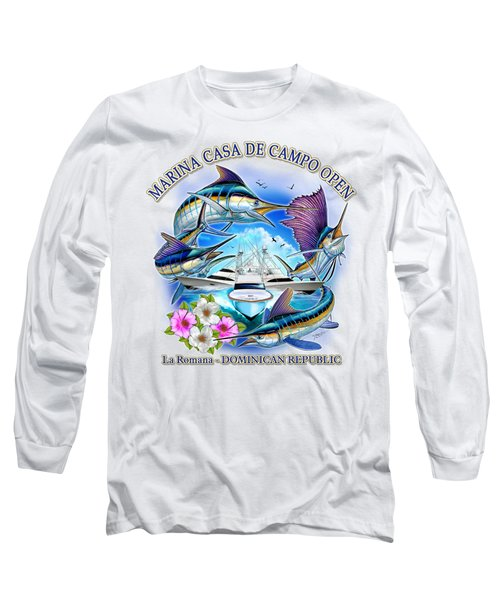 Marina Casa De Campo Open Art Long Sleeve T-Shirt