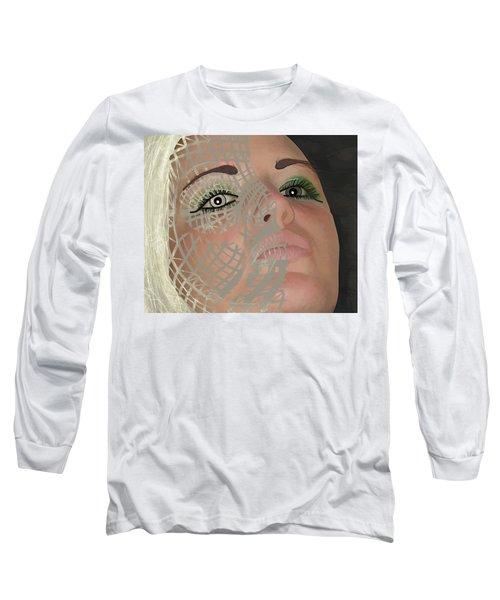 Mask Dark And Light Long Sleeve T-Shirt