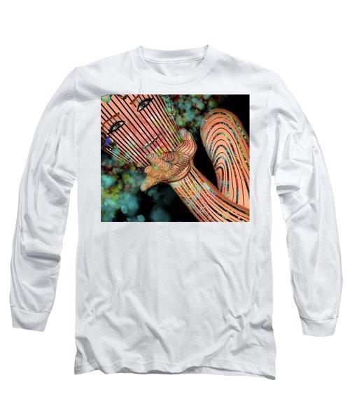 Mask Fairy Dust Long Sleeve T-Shirt