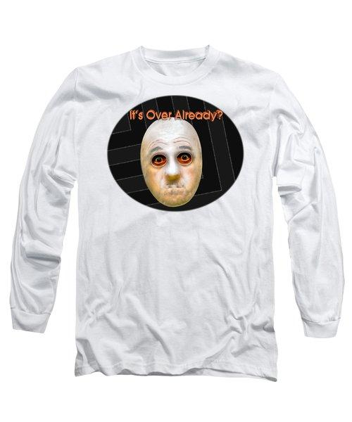 Masked Surprise Long Sleeve T-Shirt