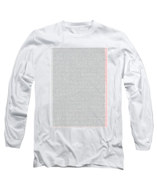 Mathematical Constants In Pi Long Sleeve T-Shirt