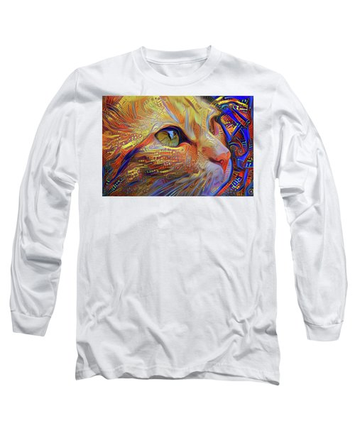 Max The Ginger Cat Long Sleeve T-Shirt