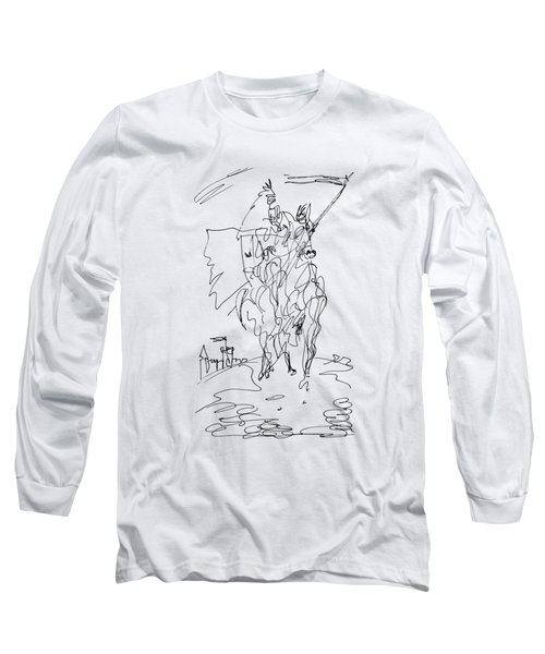 Medieval Rider Long Sleeve T-Shirt