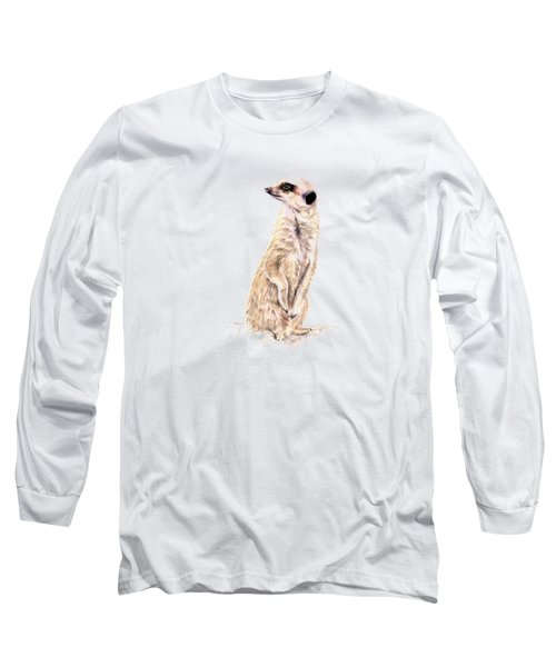 Meerkat In Charge Long Sleeve T-Shirt