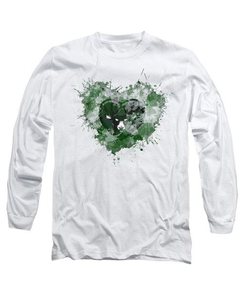 Melwaukeee Heart Long Sleeve T-Shirt