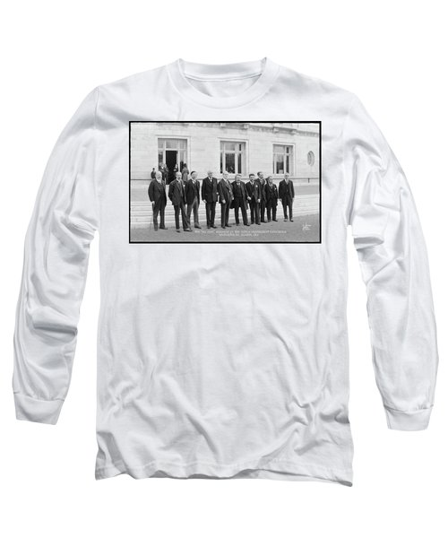 Members Of The World Disarmament Long Sleeve T-Shirt