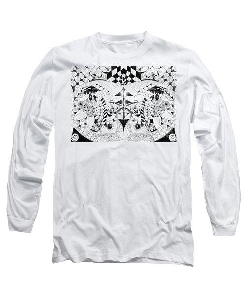 Metamorphosis Arrangement 3 Long Sleeve T-Shirt