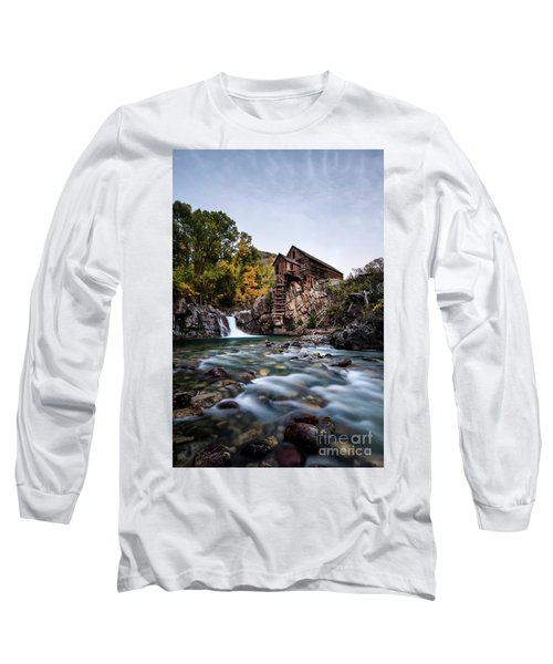 Mill On Crystal River Long Sleeve T-Shirt