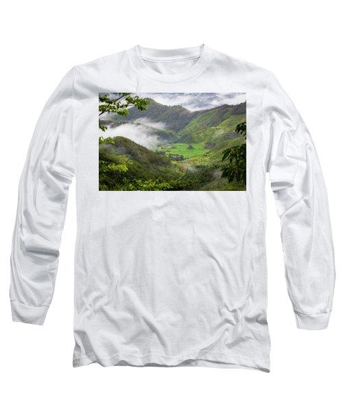 Misty Farm I Long Sleeve T-Shirt