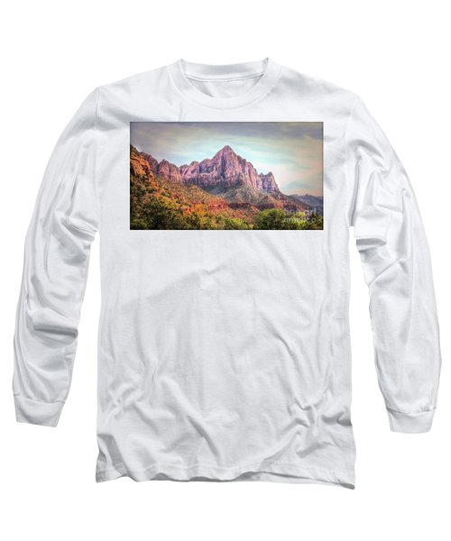 Mixed Color Zion National Park  Long Sleeve T-Shirt