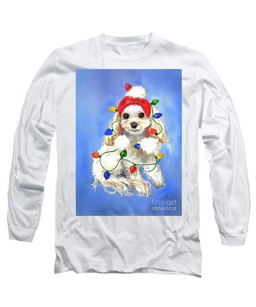 Mocha Merry And Bright Long Sleeve T-Shirt