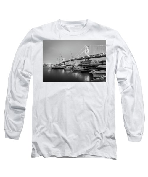 Monochrome Marina  Long Sleeve T-Shirt