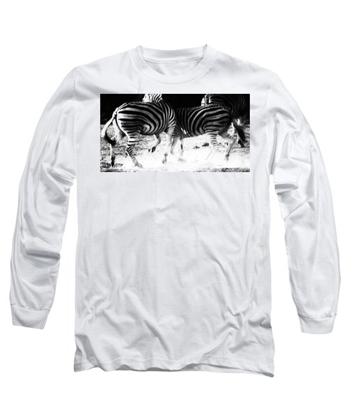 Monochrome Motion Long Sleeve T-Shirt