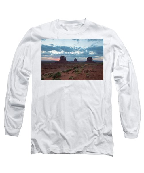Monument Valley Before Sunrise Long Sleeve T-Shirt
