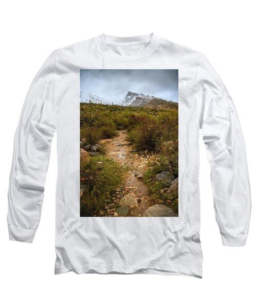 Moody Creekbed  Long Sleeve T-Shirt