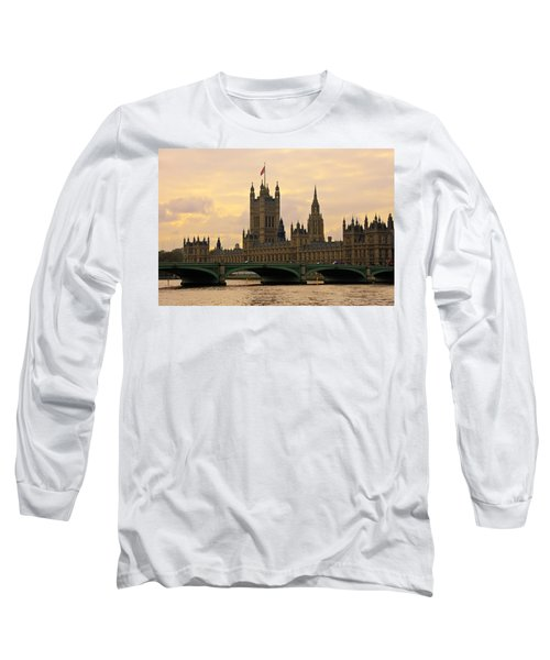 Morning At Westminster Long Sleeve T-Shirt