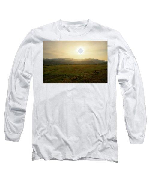 Mountains At Dawn Long Sleeve T-Shirt