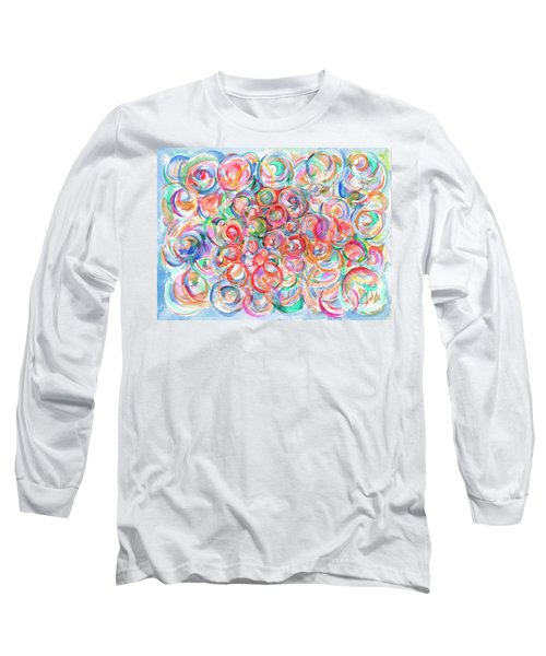 Multicolor Bubbles Long Sleeve T-Shirt