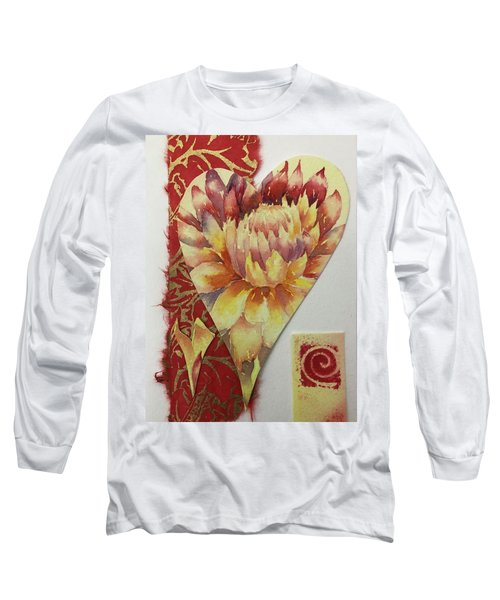 My Valentine Three Long Sleeve T-Shirt