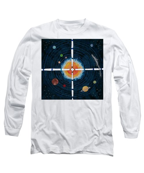 My Very Educated Mother  Just Said Uh-oh, No Pluto Long Sleeve T-Shirt