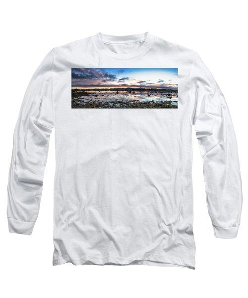 Myre Swapm Walkway On Vesteralen Norway Long Sleeve T-Shirt
