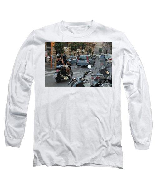 Naples Street Buzz Long Sleeve T-Shirt