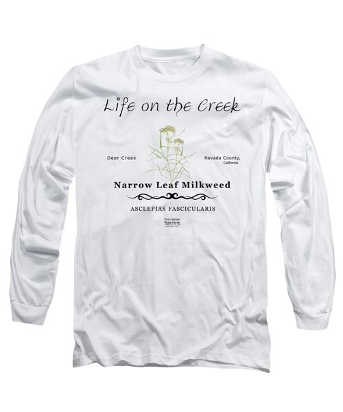 Narrow Leaf Milkweed Long Sleeve T-Shirt