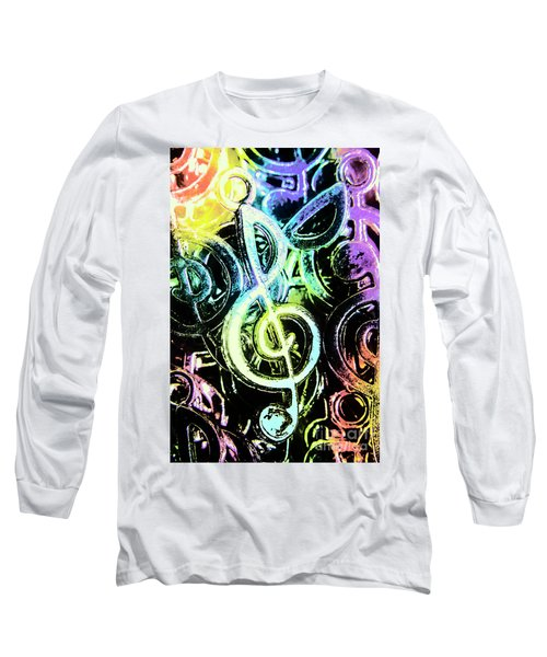 Neon Notes Long Sleeve T-Shirt