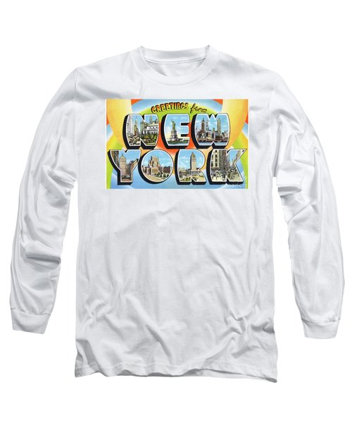 New York Greetings - Version  3 Long Sleeve T-Shirt