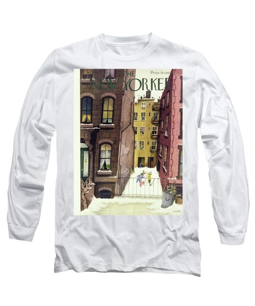 New Yorker February 2nd 1946 Long Sleeve T-Shirt