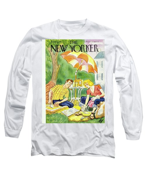New Yorker July 12th 1947 Long Sleeve T-Shirt