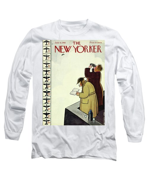 New Yorker June 13th 1942 Long Sleeve T-Shirt